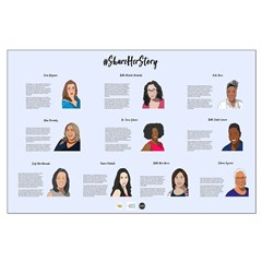 #shareherstory 2019 Large Posters