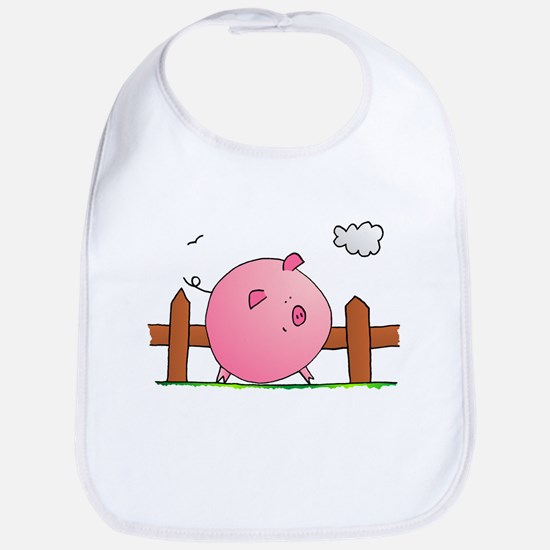 Babies Bib Piggy
