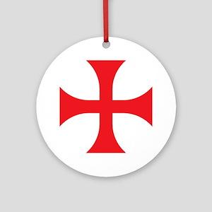 Knights Templar Ornament (Round)