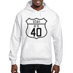 Route 40 Shield - Utah Hooded Sweatshirt