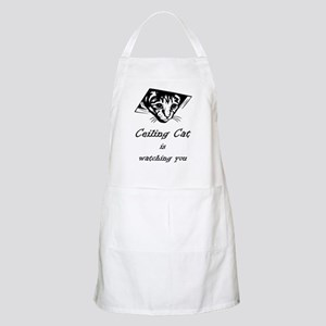 Ceiling Cat is Watching You Apron