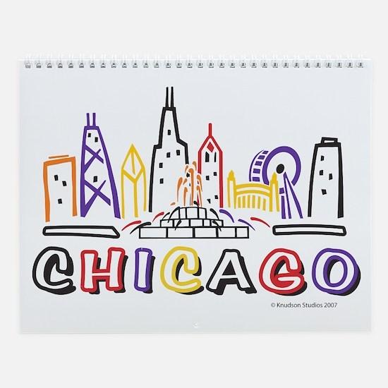 Chicago Calendar Wall Calendar