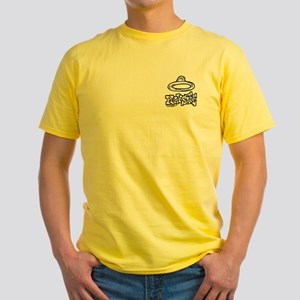 Condom Play Safe (right) Yellow T-Shirt