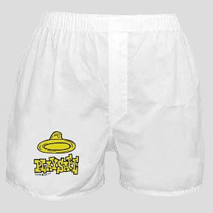 Condom Play Safe (right) Boxer Shorts