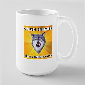 Crush Enemies Large Mug