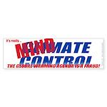Climate Control (Bumper Sticker 50 pk)