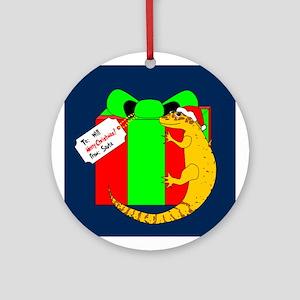 Gecko Ornament (Round)