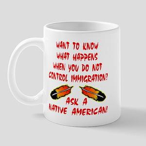 Controling Immigration Mug