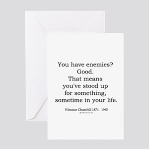 Winston Churchill 39 Greeting Card