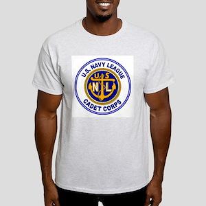 Navy League Color Ash Grey T-Shirt