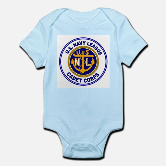 Navy League Color Infant Creeper