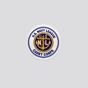 Navy League Color Mini Button