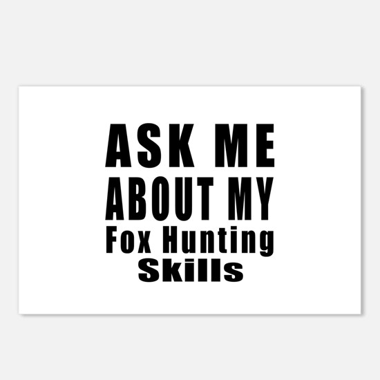 Ask About My Fox Hunting Postcards (Package of 8)
