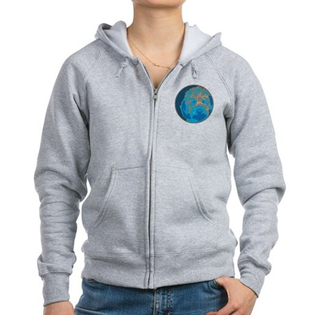 Labradoodle 2- Women's Zip Hoodie