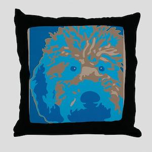 Labradoodle 2- Throw Pillow