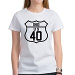 Route 40 Shield - Ohio Women's T-Shirt