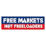 Free Markets Bumper Sticker (50 pk)