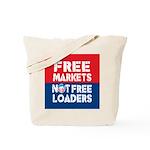 Free Markets Tote Bag