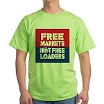 Free Markets Green T-Shirt