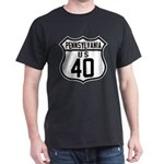 Route 40 Shield - Pennsylvani Dark T-Shirt