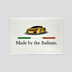 Lamborghini Italian Rectangle Magnet