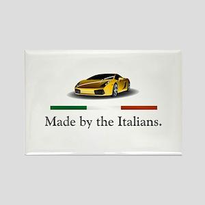 Lamborghini Italian Rectangle Magnet