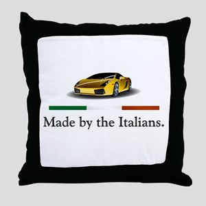 Lamborghini Italian Throw Pillow