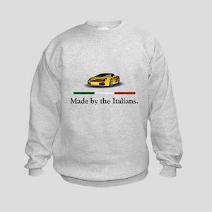 Lamborghini Italian Kids Sweatshirt