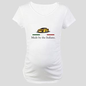 Lamborghini Italian Maternity T-Shirt
