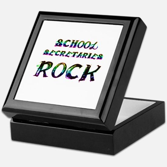 School secretary Keepsake Box