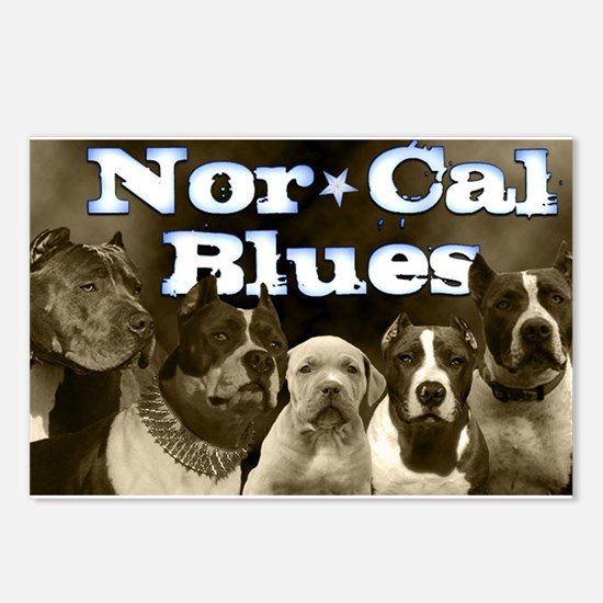 Nor Cal Blues Postcards (Package of 8)