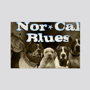 Nor Cal Blues Rectangle Magnet