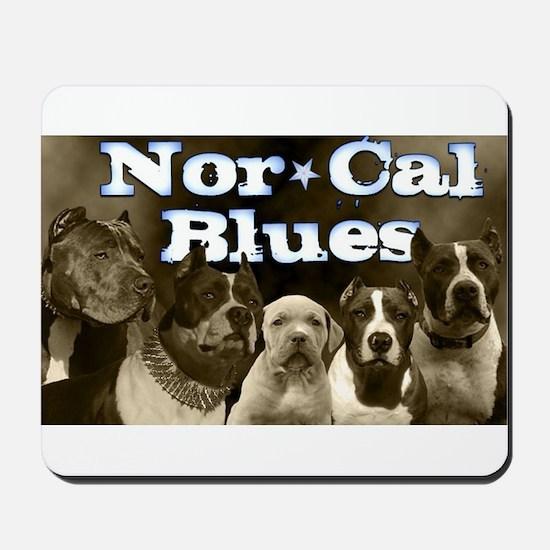 Nor Cal Blues Mousepad