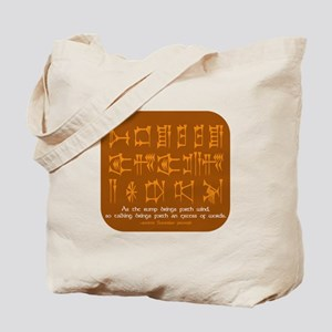 Excess of Words Tote Bag