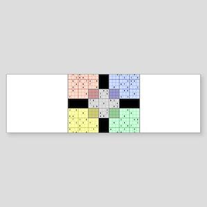 Sudoku Bumper Sticker