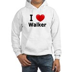 I Love Walker Hooded Sweatshirt