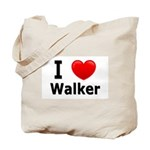 I Love Walker Tote Bag