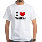 I Love Walker White T-Shirt