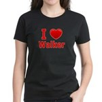 I Love Walker Women's Dark T-Shirt