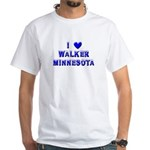 I Love Walker Winter White T-Shirt