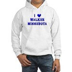 I Love Walker Winter Hooded Sweatshirt