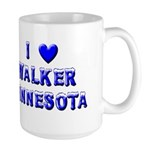 I Love Walker Winter Large Mug