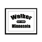 Walker Established 1896 Framed Panel Print