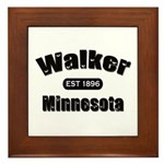 Walker Established 1896 Framed Tile