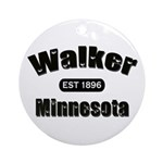 Walker Established 1896 Ornament (Round)
