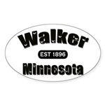 Walker Established 1896 Oval Sticker (50 pk)