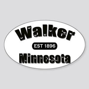 Walker Established 1896 Oval Sticker