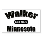 Walker Established 1896 Rectangle Sticker 50 pk)