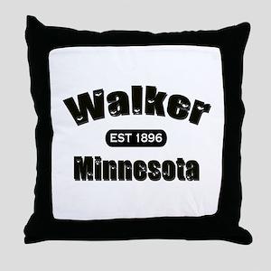 Walker Established 1896 Throw Pillow