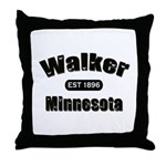 Walker Established 1896 Throw Pillow